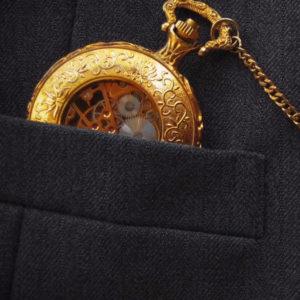 Relojes retro de bolsillo